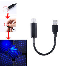 Interior Star Blue USB Starry Sky Ceiling Laser Projection Lamp Euro Vehicle