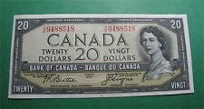 1954 Canada $20 dollars Devil's face Bank of Canada  crisp BC-33b C/E 9488518