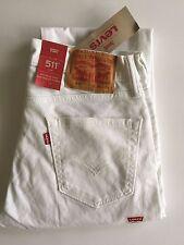 Levis Jeans Mens 511 slim fit Denim Skinny 100% original NWT Different Colors