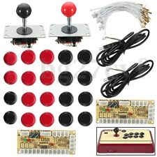 Arcade Kit Zero Delay Encoder+ Joystick +Push Button For MAME Raspberry Pi AC608