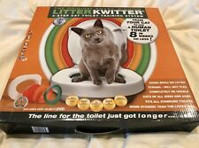 Litter Kwitter Training System Teach Your Cat to Use the Toilet and DVD