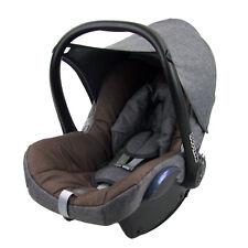 BAMBINIWELT Ersatzbezug BEZUG Maxi-Cosi CABRIOFIX Baby MELIERT GRAU/MITTELBRAUN