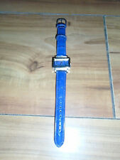 NEW Claire's Square Face Blue Wristwatch