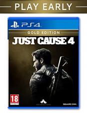 PS4-causa justificada 4-Edición Oro/PS4 Juego Nuevo
