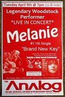 MELANIE SAFKA 2013 Gig POSTER Portland Oregon Concert Woodstock