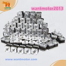 Discount!60PCS Wantai Nema17 Stepper Motor 42BYGHW811 4800g.cm 48mm 2.5A 3D