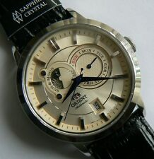 ORIENT FET0P003W0. Sun and Moon. Sapphire. Automatic. 3 ATM. New!