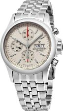 Revue Thommen Men's Pilot Stainless Steel Chronograph Automatic Watch 17081.6132