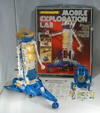 Micronauts MOBILE EXPLORATION LAB Complete with Box Mego