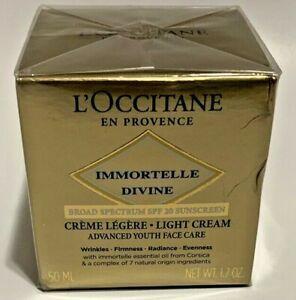 L'OCCITANE Immortelle Creme Divine Cream for Women - 1.7oz Exp 03/2021