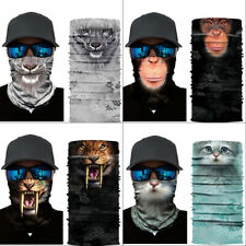 Face Mask Neck Gaiter Sun Shield Balaclava Bandanna Scarf Cycling Head Bands