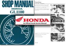 Honda GL1100 Goldwing Service Workshop Repair Shop Manual GL 1100 Gold Wing