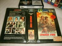UNDER FIRE - 1983 Pre Cert Roadshow Edition - Adult War Drama - Betamax Not Vhs!