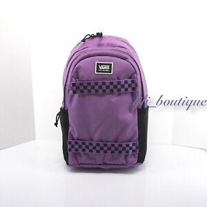 NWT Vans Strand Skateboard Pack Backpack Laptop Bag VN0A47RGZUA Dewberry Purple