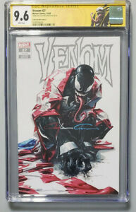 VENOM #27 CGC SIG SERIES 9.6 COVER A SIGNED BY CLAYTON CRAIN