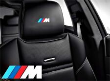 5x ///M BMW  Sticker for leather seats and other flat and smooth surfaces