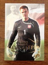 2011 Futera Unique Football Soccer Card Poland ARTUR BORUC Mint