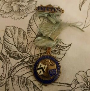 Masonic jewel RMIB 1931 issued to the province of Sussex to raise funds