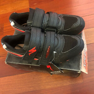 NOS SPECIALIZED Comp Mountain Shoes • Size 40EU, 7.5US, 25.5cm • Black/Red