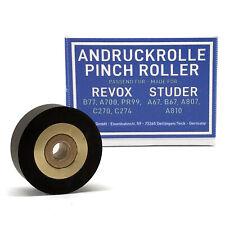 Andruckrolle Revox B77 A700 PR99 C270 C274 Studer A67 B67 A807 A810 Pinch Roller