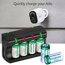 4 RCR123A Batteries Arlo Reolink Appareil Rechargeable 3.7V 700mAh LI-ION