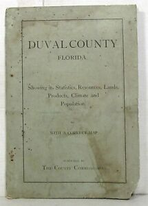 1885 Duval County Florida promotional booklet