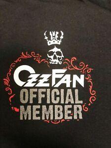 OZZY OSBOURNE OzzFan Fan Club Shirt 2007