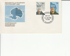 Australian Antarctic Terroitory FDC - 1983-01-16 Sir Douglas Mawson Centenary