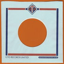 GTO REPRODUCTION RECORD COMPANY SLEEVES - (pack of 10)