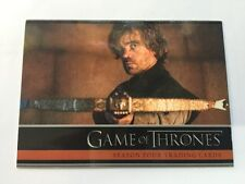 Game Of Thrones Season 4 P1 Promo Card Tyrion Lannister
