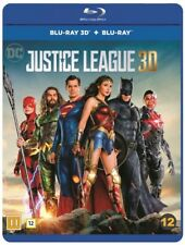Justice League 3D + 2D Blu Ray