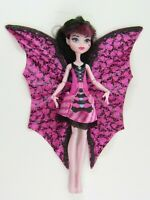 Monster High Ghoul to Bat Draculaura Doll Flip Up Wings - Free Shipping