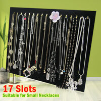 Necklace Jewelry Pendant Chain Show Display Holder Stand Neck Velvet Easel OZ