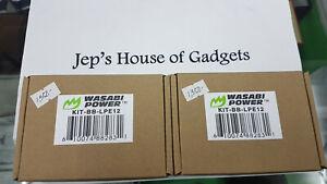 Wasabi LP-E12 for Canon 2pcs Battery 1 Dual USB Charger Set