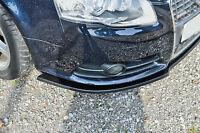 Sonderaktion Spoilerschwert Frontspoilerlippe Cuplippe ABS Audi A4 B7 S-Line