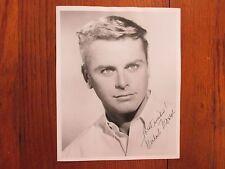 MICHAEL MONROE(Died-2010)Highway Patrol/Mister Ed/ Signed  8 X 10  B & W  Photo