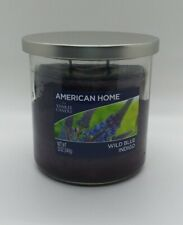 "Yankee Candle American Home ""Wild Blue Indigo"" 12 oz"