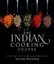 CookBook The Indian Cooking Course by Monisha Bharadwaj (Hardcover) NEW on Sale!