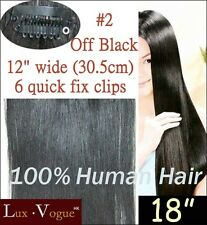 1 Pc Remy Quick Fix Clip In Human Hair Extensions #2