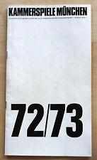 Ionesco macbett-programa cuaderno alemán munich asegurarán 1973 + 2 rezensio