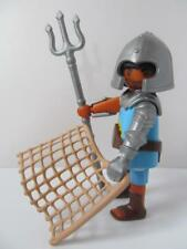 Playmobil figura: Gladiador Romano Con Beige Net & Tridente Nuevo