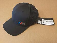 Genuine BMW Black Embroidered M baseball Cap sport hat 80162454739 2454739