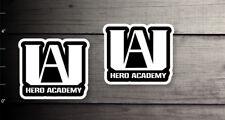 boku no My Hero Academia UA Hero Academy decal sticker die cut black white