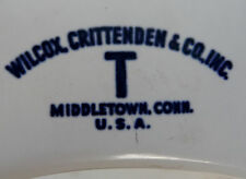 Vintage Wilcox Crittenden Co Camper Toilet Bowl for Planter or Repurpose