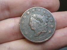 1833 Matron Head Large Cent Penny- Good/VG Details