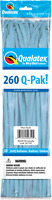 260Q PALE BLUE MODELLING BALLOONS PACK OF 50 BIRTHDAY PARTY SUPPLIES