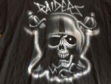 Oakland Raiders Rap Hip Hop Robert Leach XL T-Shirt Roblea 1990's