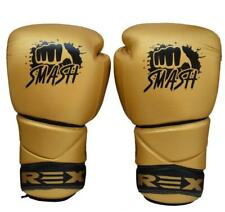 Rex Smash Cowhide Leather Sparring , Training & Competition Boxing Gloves