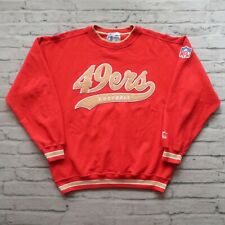 Vintage 90s San Francisco 49ers Sweatshirt by Starter Size L Rare