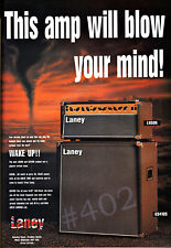 More details for laney amp advert - 1997 laney lh50r and gs410s amplifier advertisement